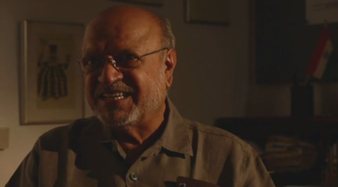 Shyam Benegal. An honourable man from India