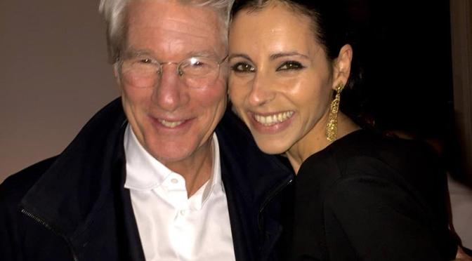 Yolanda Font, Jury at Imagineindia 2016, with Richard Gere