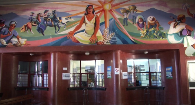 The People's Train of Culture (Carolina Spinoza) Chile