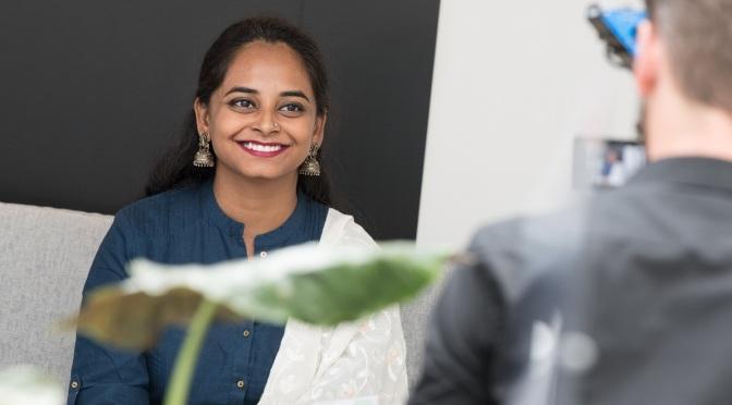 Interview to Modhura Palit